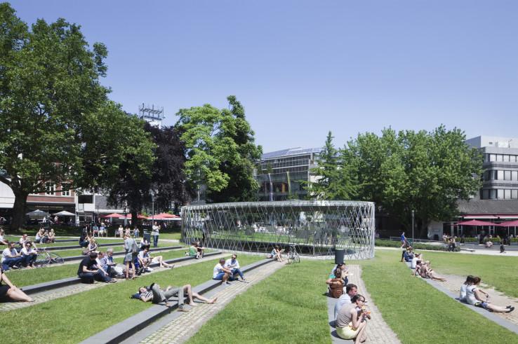 pavillon elisengarten  - kadawittfeld architekten