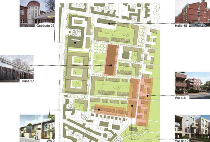 clouth_uebersichtsplan moderne stadt
