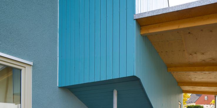 Kleines Haus Blau