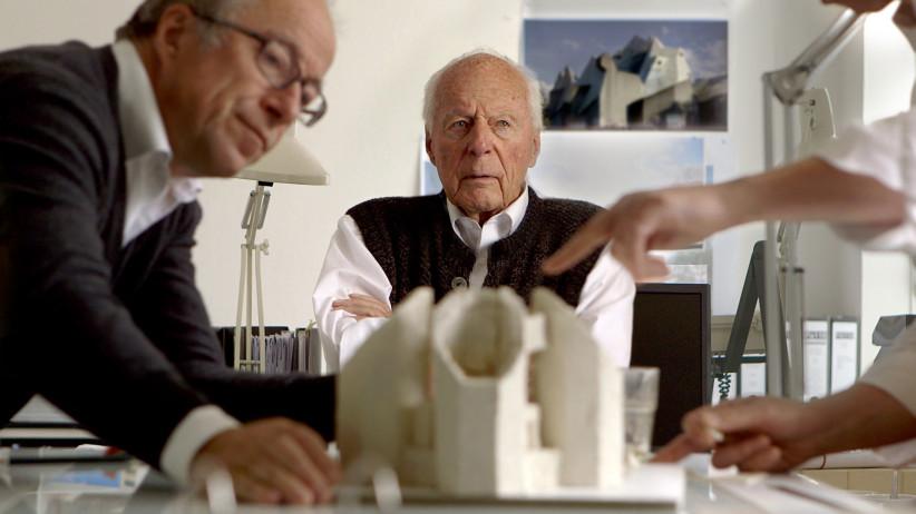 Paul und Gottfried Böhm. © Lichtblick Film GmbH/Foto: Raphael Beinder