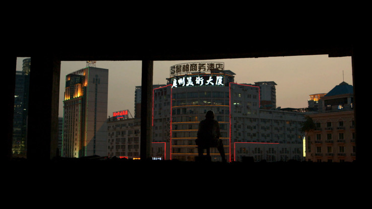 Stephan Böhm in China. © Lichtblick Film GmbH/Foto: Raphael Beinder