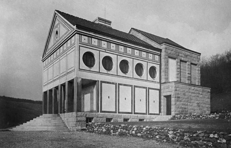 P-Behrens_Krematorium-Hagen_1906-08_Bildarchiv-Foto-Marburg
