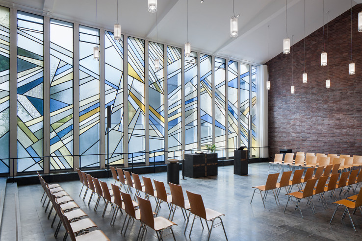 epiophaniaskirche - lepel und lepel innen- architekten