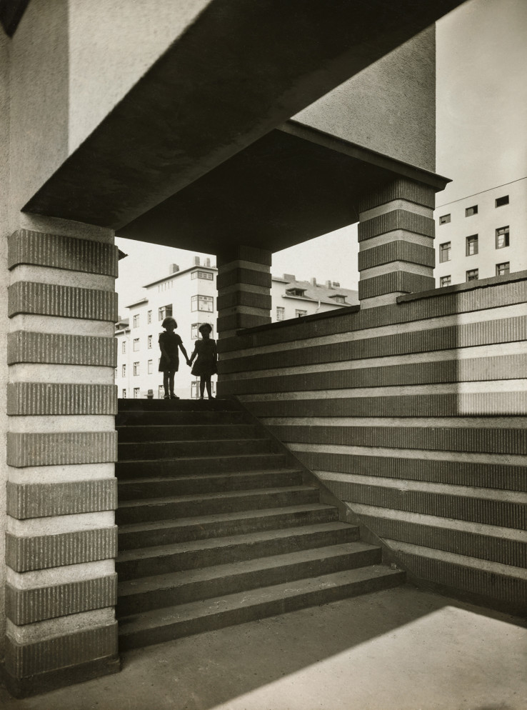Naumannplatz, Naumannsiedlung, Köln-Riehl, um 1929