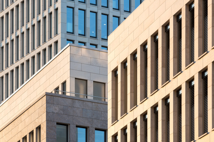 Maintor Areal mit Primus, Porta und Patio, Frankfurt am Main,  KSP Jürgen Engel Architekten