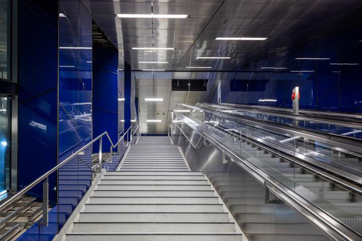 U-Bahn Station Schadowstrasse, Wehrhahn Linie Düsseldorf
