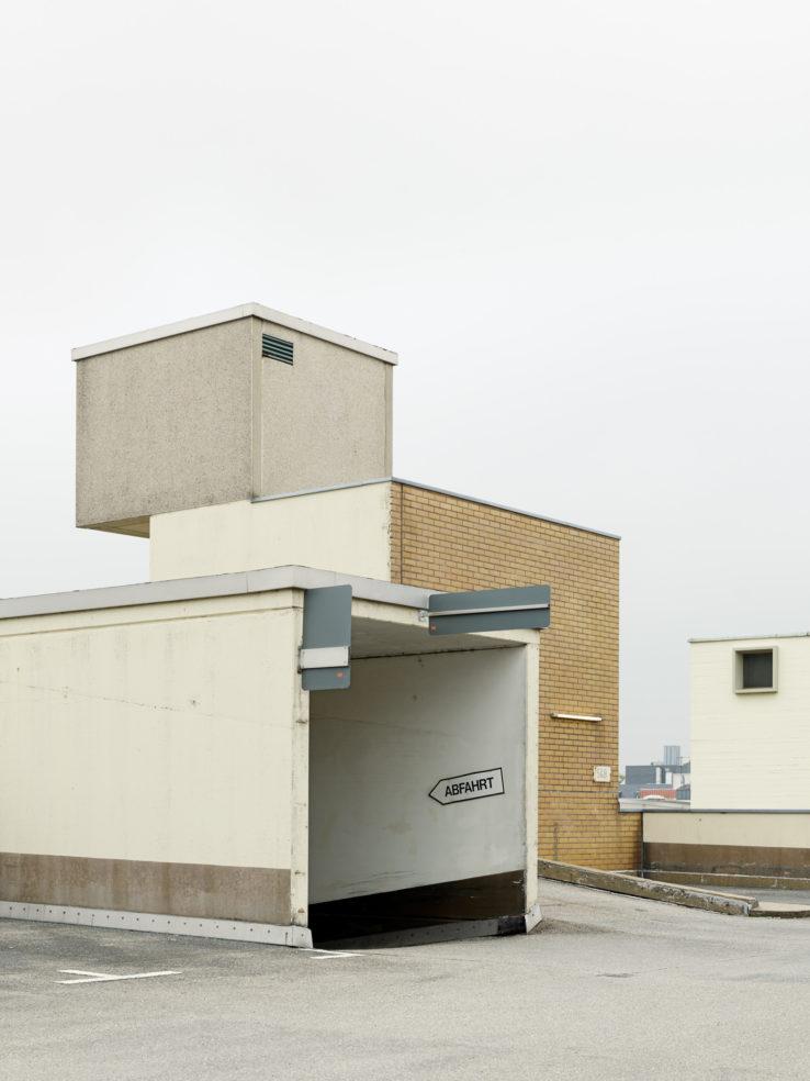 Parkhausdächer von Constantin Meyer