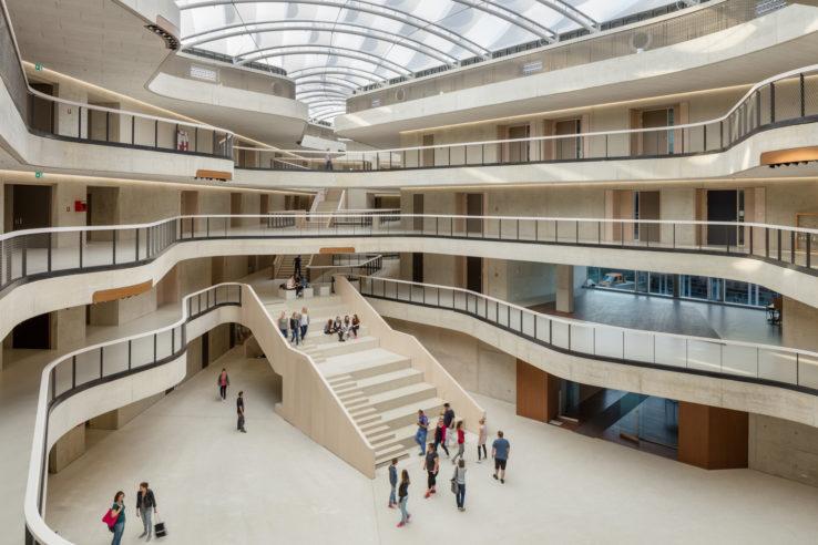 3pass Architekt/innen Stadtplaner/innen Kusch Mayerle BDA | Projekt: Erzbischöfliches Berufskolleg in Köln-Sülz