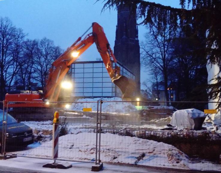 Baustelle St Stephan