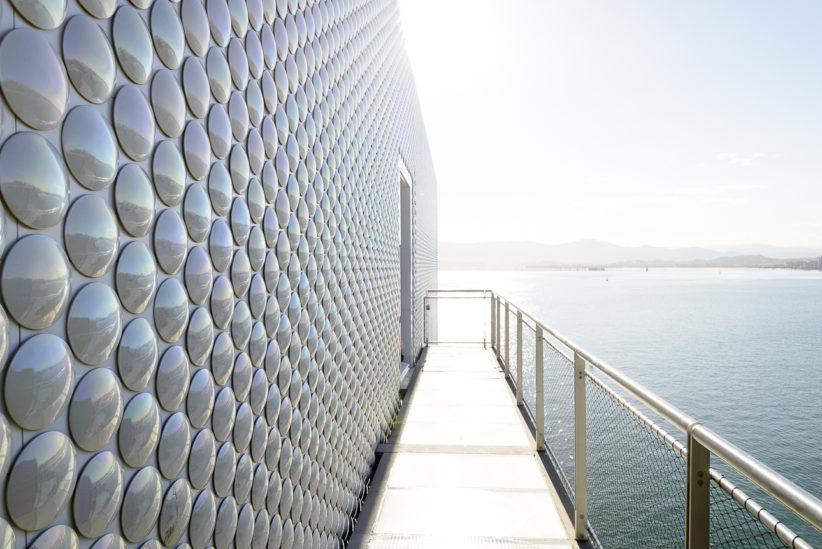 Außenfassade des Centro Botín mit 270.000 Keramikfliesen. Copyright: mindjazz pictures