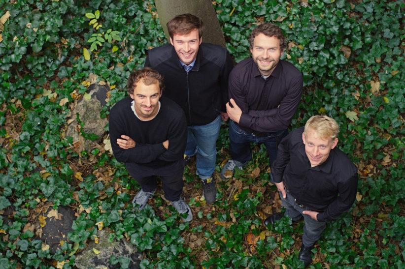 Max Salzberger, Moritz Winkler, Michael Lautwein und Marc Over (v.l.) vom Atelier SLOW. © Moritz Winkler